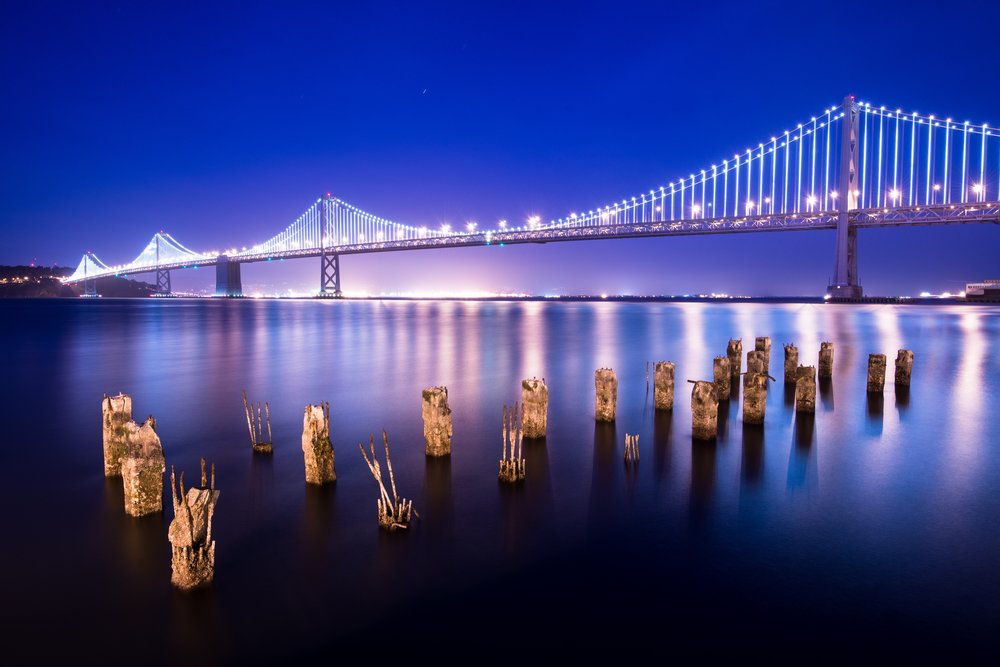Bay Bridge Cityscape
